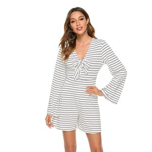 Projeto original Jumpsuit Hot Sale 2019 Autumn New listrada Bow Jumpsuit decorativa