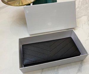 Alta qualidade unisex carteira comprida bolsa para mulheres e homens carteira de couro melhor venda moda ang estilo popular novo chegar