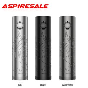 Authentic Vapefly Siegfried Battery Powered by Single 18650 20700  21700 Battery with CNC Engraving and Corrosion Craftsmanship