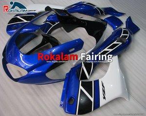 97-07 YZF1000R Vendita Nuova carenatura per carrozzeria ABS per Yamaha YZF 1000R YZF 1000 R Thunderiace 1997-2007 Blue White Motorbike Fairings