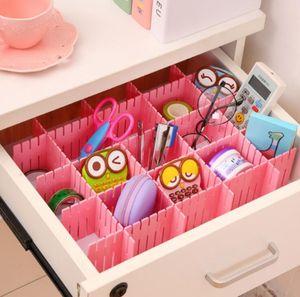 Plastic Drawer Clapboard Adjustable Household Organizer Storage DIY Clapboard Ties Socks Bra Underwear Storage Drawer Divider 32*7CM DHE2389