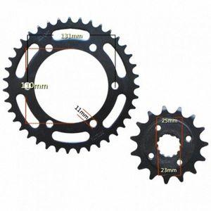 Para ZZR250 GPZ250 roda dentada 250 Motorcycle Frente Verso geartransmission 520 15T / 39T gyXO #
