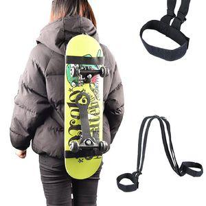 Лыжные костюмы Скейтборд Плечворцы Перенос Ремешок Прочный Регулируемый Рюкзак Сноуборд