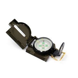 Compass en plastique Compas Camping Compas anglais Circular Gold Gadget extérieur Gadget Armée Vert Portable Nouvelle arrivée 4 9QL L2