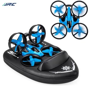 HOSHI RC Drone RTF Mini Quadcopter 2.4G 4CH 6-Axis Speed 3D Flip Headless RTF Boat Car Water Ground Air Mode 3-mode Toys 201119