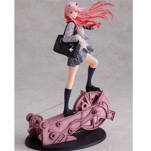 Anime Querida no Figura Franxx Brinquedos Zero Duas Meninas Sexy PVC Figuras de Ação de Brinquedo Adulto Modelo Colecionável Boneca Brinquedos