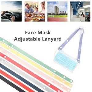 DHL Shipping Adjustable Anti-Slip Mask Ear Grips Savers Extension Face Masks Buckle Mask Holder Ear Buckle Rope Ear-hook RRA3686