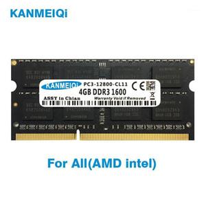 KANMEIQi DDR3 2GB 4GB 8GB Notebook RAM DDR3L 1333 1600MHZ 1866MHz 1.35v 204pin laptop Memory so dimm New 2G 1.5V1