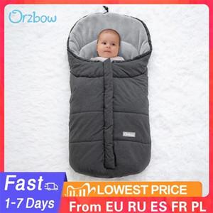 Orzbow Infant Extraire enveloppe Sac de couchage nouveau-né pour bébé poussette Sleepsacks Footmuff Hiver Hiver Chauffe plein air bébé cocon 0-12m 201105