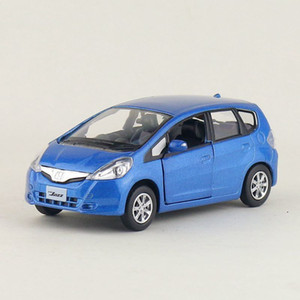 High Simulation Exquisite Diecasts&Toy Vehicles: RMZ city Styling Honda Fit Jazz 1:36 Alloy Diecast Car Model Pull Back Cars