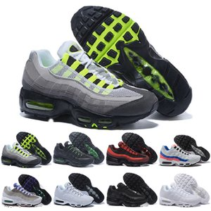 2019 Men 95 OG Cushion Navy Sport High-Quality Chaussure 95s Walking Boots Men Shoes Cushion 95 Sneakers Size 36-46