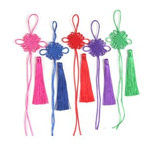 5 pz Nodi cinesi nappe manmade gioielli fai da te casa tessile tenda indumenti decorativi accessori pendente craft nappe h wmtuis