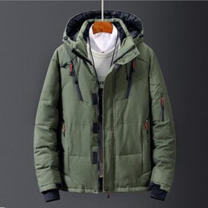 North The Winter clothing Men Down Jackets Parka keep Warm down Coat Softshell Hats thick outdoor outerwear face mens jacket