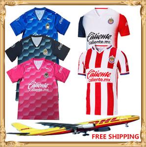 DHL Free shipping 2020 2021 Club Chivas de Guadalajara Soccer Jersey Home 20 21 Chivas Women Kids Football shirts Size can be mixed batch