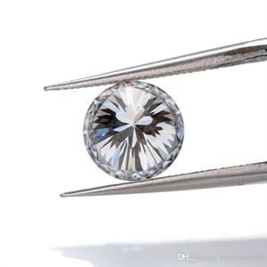 الأزياء والمجوهرات الأسعار لكل قيراط الأبيض 8MM اللون 9 قلوب الأمبير (1)؛ زهرة جولة قص مختبر نمت الاصطناعية مويسانيتي لصنع المجوهرات