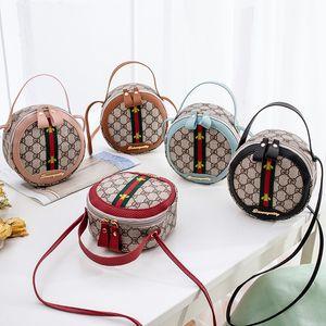 2020 الساخن Solds أزياء المرأة حقيبة يد GD طباعة الكتف حقيبة المائل اللون جولة CROSSBODY حقائب Luxurys المصممين حقائب