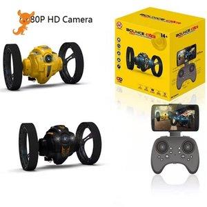 WiFi rc المزحة حيلة أنا لعبة عالية السرعة فيديو التحكم عن القفز سيارة الصمام المصباح الذكية ترتد متسابق هدية عيد كاميرا 201211