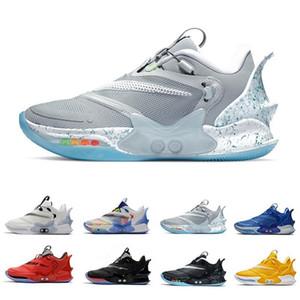 حار بيع ماج التكيف bb 2.0 رجل أحذية كرة السلة الفائز دائرة الملكي الأسود ماج الأبيض الأسمنت الأبيض الأسمنت المدربين الرياضة أحذية رياضية