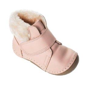 MyWondry Hakiki Deri Kürklü Toz Kız Bebek İlk Adım Çizmeler W1217