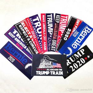 Donald Trump 2020 Car Sticker America President Election Sticker Fashion Exquisite Stickers Home Garden Waterproof Stickers VT0428