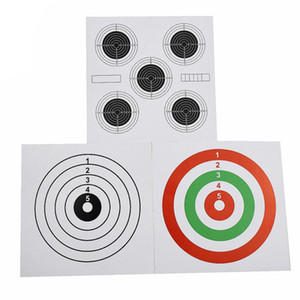 100 target paper 14x14cm paint ball drive arc and Airsoft target arrow