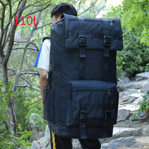 110L Large Capacity Man Tactical Backpacks Assault Bags Outdoor Sport Hiking Camping Bag Travel Backpack Rucksack