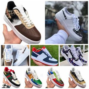 2020Hot dunk pas cher 1 Utilitaire Chaussures de course Hommes Femmes air triple af 1 forces airforce un des formateurs hommes de planche à roulettes sport sneakers40-45
