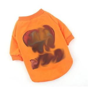 الصيف الترتر زخرفة الحيوانات الأليفة قمصان ins نمط الدب نمط الحيوانات الأليفة القمصان في الهواء الطلق شخصية سحر كيجي تشاي الكلب الملابس