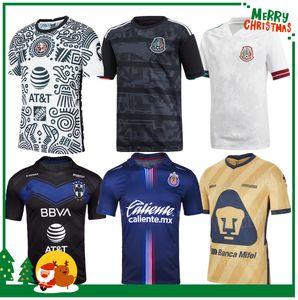 2020 Messico club America Tigres Unam Chivas Camicia da calcio 2020 2021 H Lozano Dos Santos Chicharito Sports Football Jersey