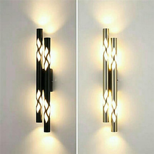 LED Luxurious Wall Lamp Living Room TV Background Wall Light Creative Bedroom Bedside Lamp Sconces Lighting