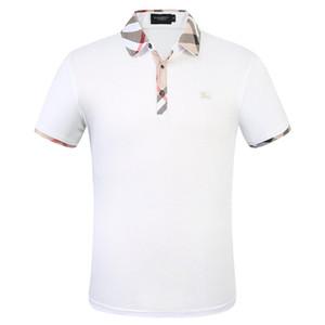 Broderie Femmes T-shirts Crew Neck Streetwear été T-shirts Marque Hauts adolescents court BURBERRY