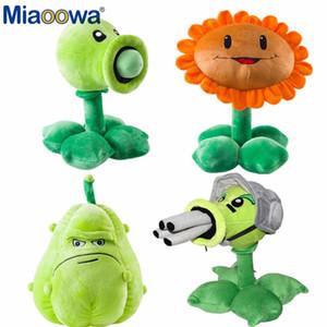 30 cm Bitkiler vs Zombiler Peluş Süslemeleri Oyuncak Chompper Bitkiler Vs.Zombies 2 Heykelcik Bezelye Ayçiçeği Kavun Dolması Bebek Çocuklar Için Hediye