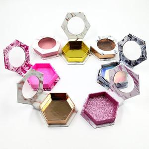 False Reelash Упаковочная коробка Поддельные 3D Норковые ресницы Ящики Красочные Прекрасные вспышки Пустая упаковка
