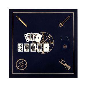 Altar Tarot paño de terciopelo tarjetas de Tarot mantel con bolsa de Oracle Adivinación Juego Board Card Game Pad Accesorios yxlqWq qpseller