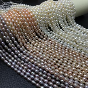 Natural Pearl necklace Beaded Loose Beads for Make wedding christm Jewelry DIY Bracelet Necklace earrings rings goth for women
