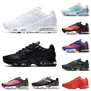 Nike Air Max Tn Plus 3 Airmax Tns tennis trainers hommes femmes des chaussures de course toutes noires triple blanc laser bleu tigre hommes femmes chaussures de sport athlétique