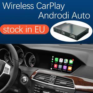 Interface de Carplay sem fio para Mercedes Benz C-Class W204 2011-2014, com Android Auto Espelho Link AirPlay Car Play Funções