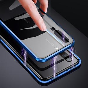 Новый магнитный поглощение металлический корпус для Huawei P20 P20PRO P20LITE телефон задняя крышка двухстороннего стекла Huaweip20 Pro Lite Bag H Jlltoh