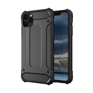 Caja de la armadura resistente para iPhone 12 SE 7 8 más XR XS 11 Cubierta de la caja del teléfono Max Pro prueba de golpes para la nota 20 de caja de la armadura 10 Pro Hybrid