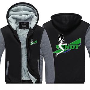 Tractor Fendt Imprimir Cashmere Hoodie Inverno Engrosse fleece Cotton Zipper Jacket Brasão Casual Aqueça Super Size Plus Size camisola EUA UE