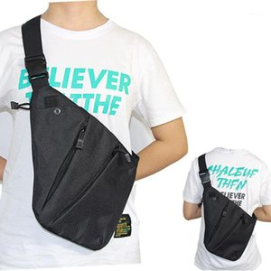 Tactical Pistol Gun Bag Hunting Nylon Multifunctional Concealed Storage Holster Chest Bag Pouch Anti-theft Shoulder1