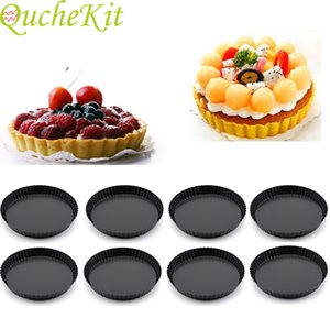 Anti stick cake sleeping cake flat mold pastry detachable pizza cake bottom free round bread cream fudge dessert cooking utensils