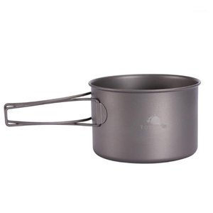 Camp Kitchen TOAKS Titanium Bowl Outdoor Foldable With Handle For Picnic Camping Cookware 550ml BWL-5501