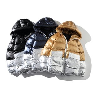 winter coat hooded jacket 2020 High Quality Men Down Jacket Clothing Casual Warm Hooded Collar Coats Winter Jackets Men's Windbreakers