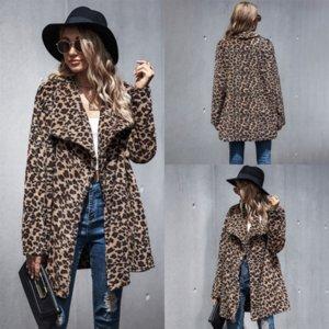 PC05R Highfaced kaliteli kadın ceket kadın uzun trençkot yeni kaşmir karışımları Kuzey fa coat adam giyim yün leopar kış