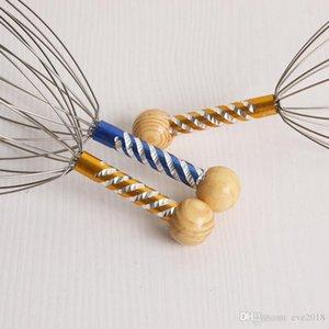 Scratcher Terapêutico Profundo Relaxamento Tool Hand Hold Scalp Stress Libertação Massagem Polvo Head Massager LX7014