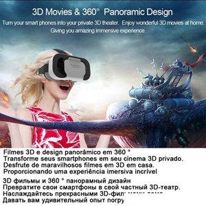 VR Shinecon Kask 3D Smartphone Akıllı Telefon Kulaklık Gözlükler Casque Wirth Viar Dürbünler Video Oyunu İçin Sanal Gerçeklik Glasses