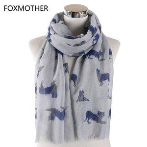 Foxmother Dog Echarpes Rose Foulard Femme German Shepherd Femmes Gris cadeau pour nouvel amant yxlXUr bde_jewelry
