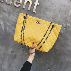 Fashion Large Shoulder Bag Women Travel Bags Leather PU Quilted Bag Female Handbags Women Bags Designer Sac A Main Femme