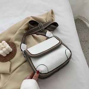 Solid Color Pu Fashion Shoulder Summer New Messenger Luxury Designer Broadband Female Bag